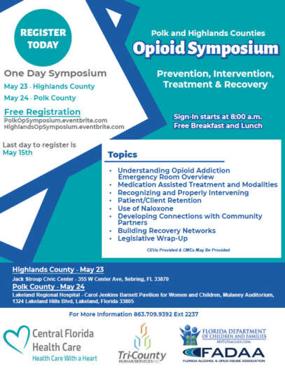 Polk and Highlands Counties Opioid Symposium